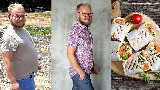Viktor vyzkoušel v Evropě populární StockholmDiet.com a díky ní shodil 16 kg
