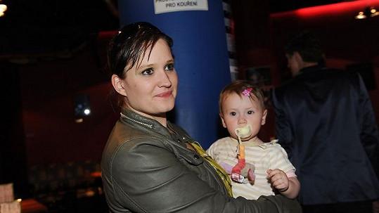 Natálie s dcerou Miou.