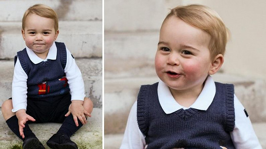 Princ George opět dokazuje, jak moc je kouzelný.