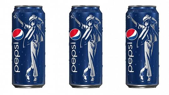 Pepsi a její nové plechovky s Michaelem Jacksonem.