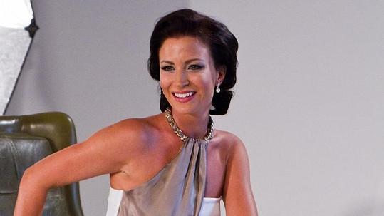 Gabriela Partyšová v nové kampani.