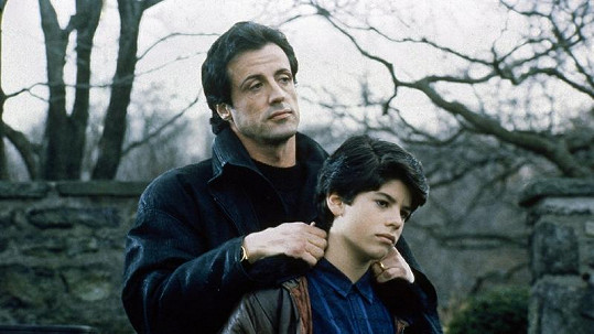 Sylvester Stallone si se synem Sagem zahrál v roce 1990 ve filmu Rocky V.