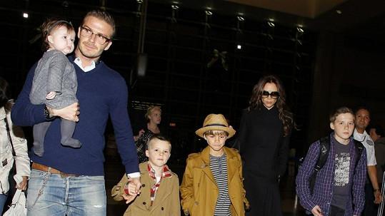 Beckhamovi mají styl.