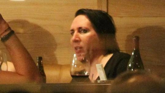 Marilyn Manson bez jeho obvyklého namaskování.