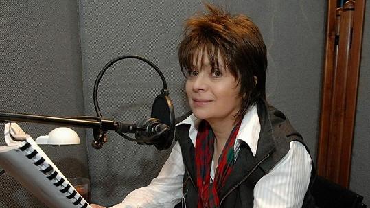 Libuše Šafránková má nový účes.