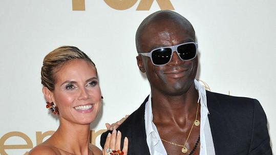 Heidi Klum a Seal v době, kdy byli ještě šťastně zamilovaní.