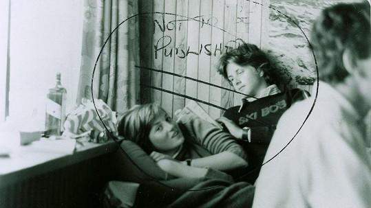 Princezna Diana na archivním snímku, který měl zůstat utajen.