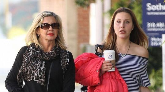 Olivia Newton-John a její dcera Chloe