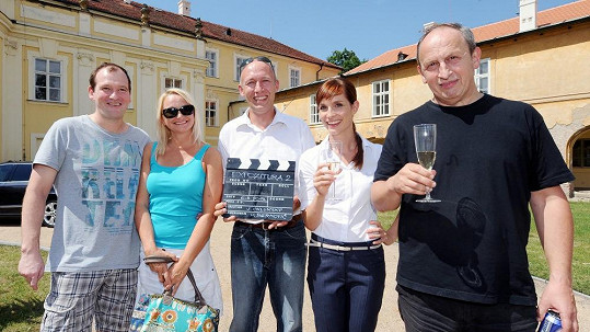 Mezi herci Expozitury se na place objevil Jan Kraus.
