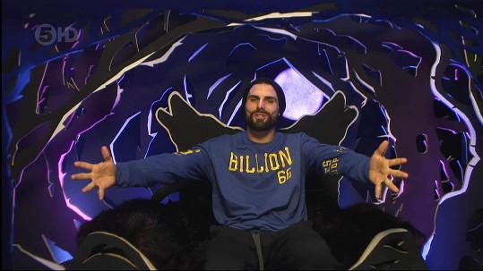V domě Celebrity Big Brotheru si Jeremy Jackson uřízl ostudu.