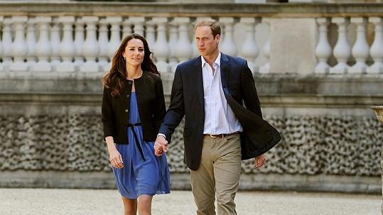 William a Catherine, vévoda s vévodkyní z Cambridge.