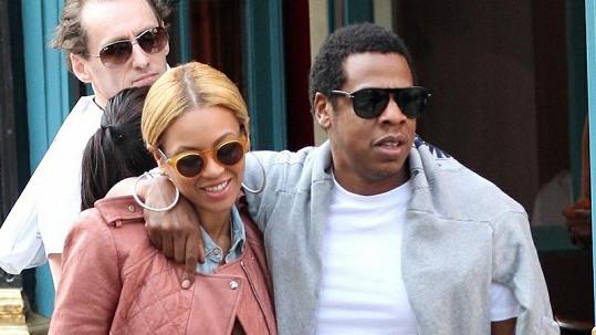 Beyoncé s manželem Jay-Z.