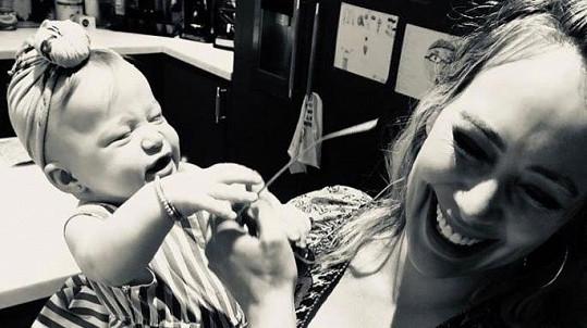 Hilary Duff s dcerkou Banks