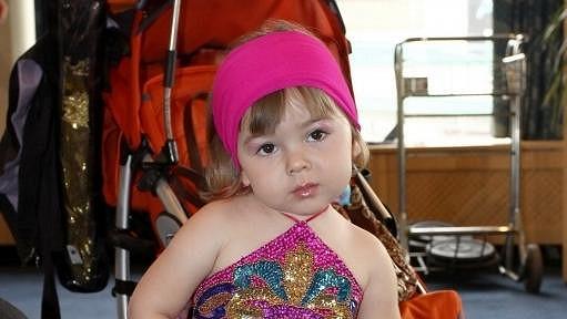 Malou Sofii přivezla na Talent maminka kočárem.