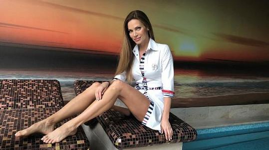 Andrea Verešová žije v luxusu.