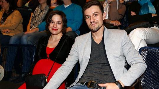 Kristýna Janáčková s partnerem.