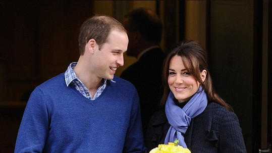 Kate a William se těší na společného potomka.