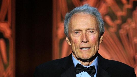 Herec a režisér Clint Eastwood.