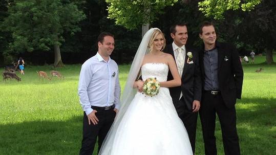 Zorka Kepková a Míra Hejda se včera vzali.