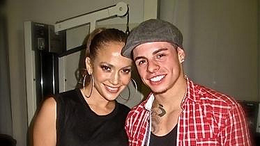 Jennifer Lopez a Casper Smart.
