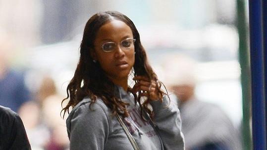 Tyra Banks vypadá bez líčidel úplně jinak, než jak ji známe z časopisů.
