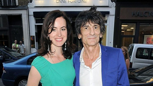 Ronnie Wood a Sally.