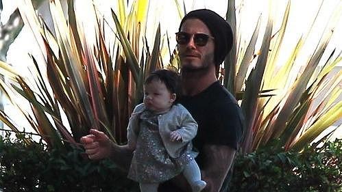 David Beckham s dcerou Harper Seven.