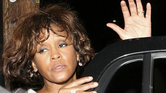 Whitney Houston nevypadala vůbec dobře.