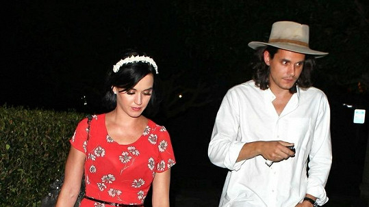 Katy Perry a John Mayer se rozešli.