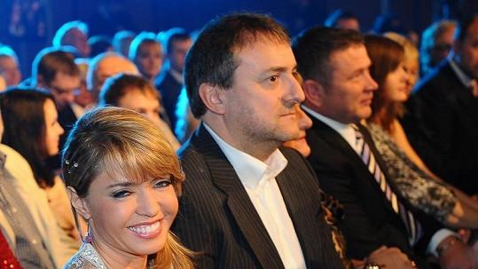 Pavlína Danková s přítelem Milanem Benešem.
