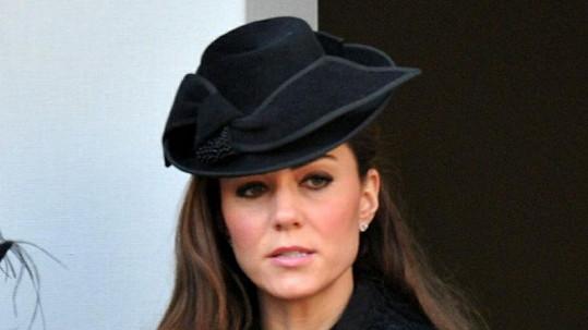 Vévodkyně Catherine si na klobouky potrpí.