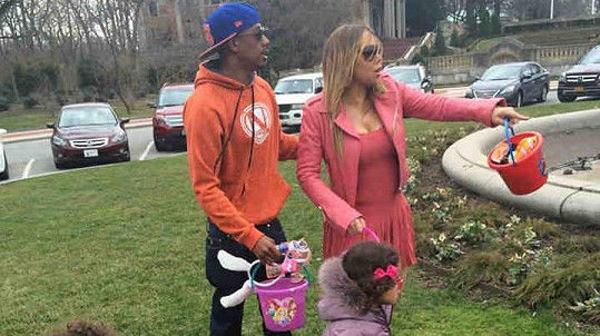 Mariah Carey se o Velikonocích vrátila do starých dobrých časů.