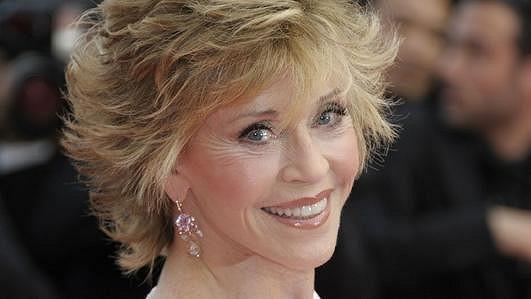 Okouzlující Jane Fonda.