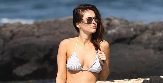 Megan Fox na dovolené na Havaji.