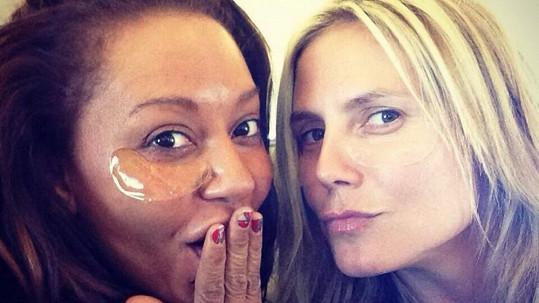 Reálná podoba Heidi Klum a Mel B