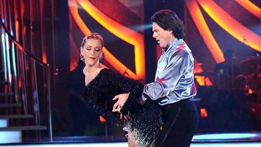 Martin Procházka se tanci zcela oddal.