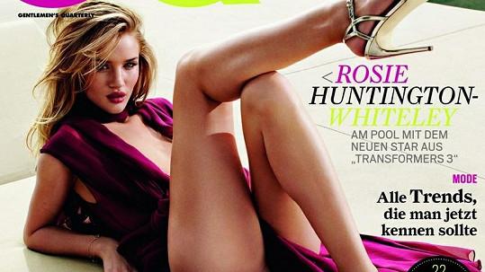 Božská Rosie Huntington-Whiteley je na obálce CQ neuvěřitelně sexy.