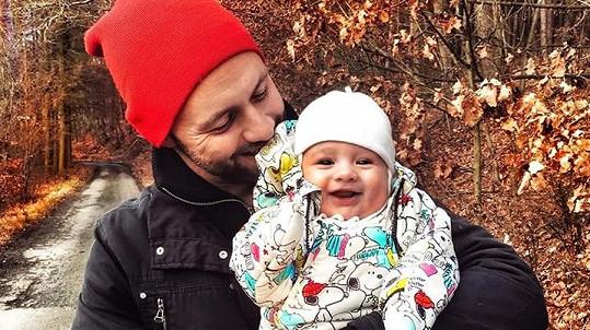 Michael Foret se synem Timem