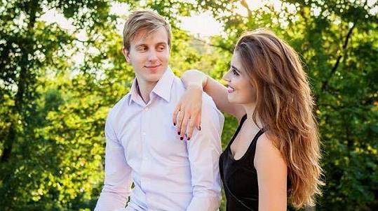 Denisa Jurtin a Daniel Přibyl