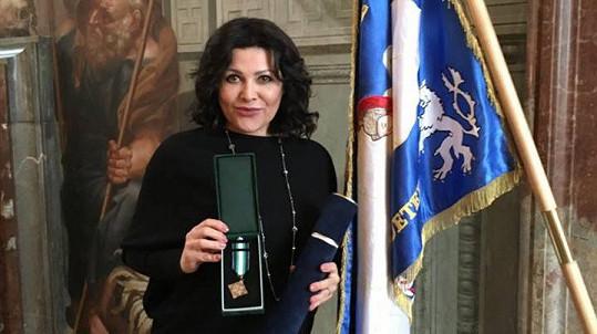 Ilona Csáková je hodna významného ocenění.