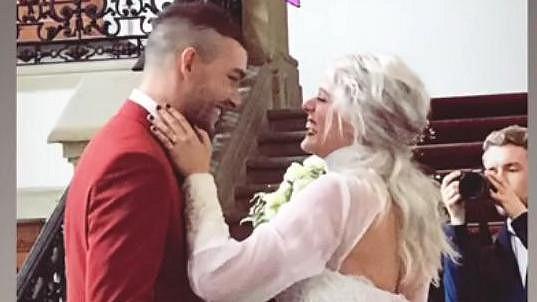 Terezie Kovalová s manželem