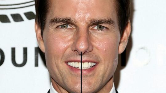 Tom Cruise a jeho opěvovaný úsměv