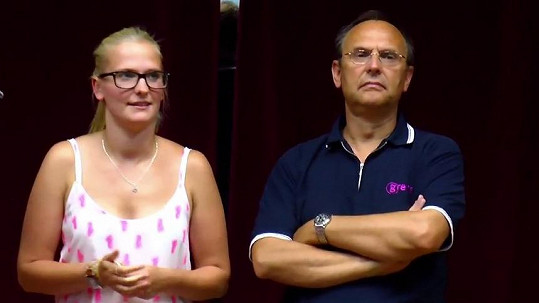 Pavel Kikinčuk s dcerou Kamilou