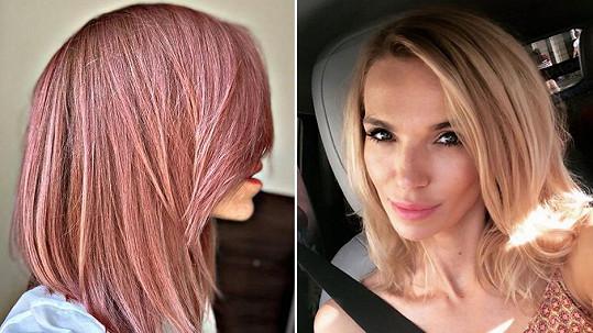 Hana Mašlíková už není blondýnka.