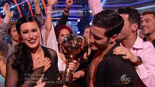 Rumer Willis vyhrála soutěž Dancing With Ther Stars.