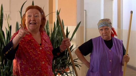 Jaroslavy Hanušová a Obermaierová ve filmu Bastardi