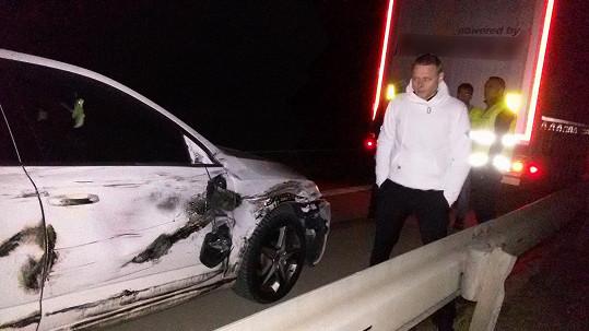 Jarek Šimek se po srážce s kamiónem znovu narodil.