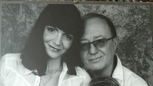 Petr Janda s manželkou Alicí na snímku Jakuba Ludvíka.