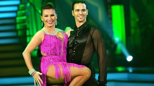 Dana Morávková moc toužila celou soutěž vyhrát.