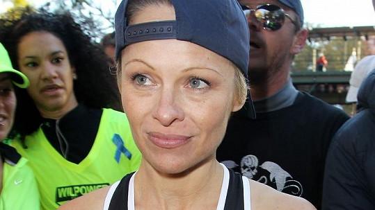 Pamela Anderson jako sportovkyně